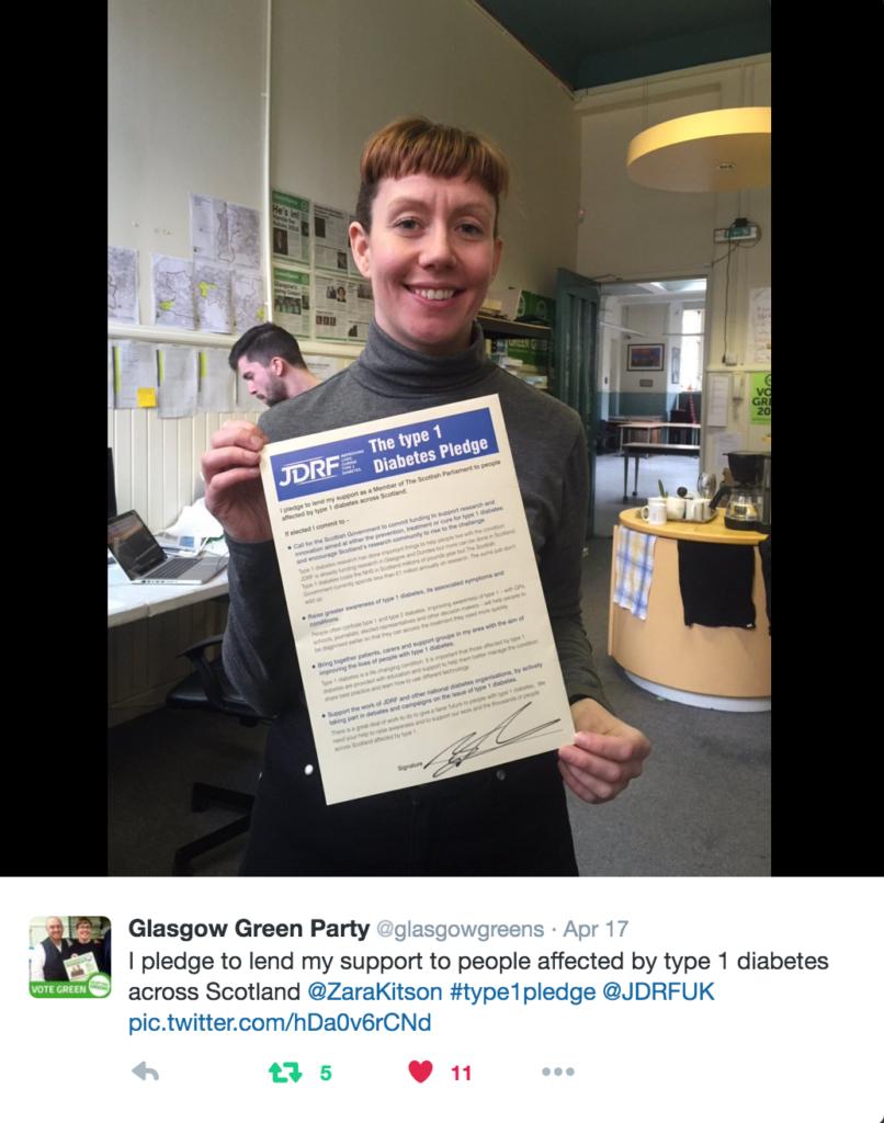 Zara Kitson Glasgow Green Party