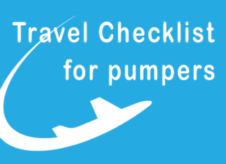 Holiday travel checklist with an insulin pump