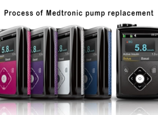 Process of Medtronic pump replacement