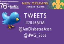 Tweeters at #2016ADA American Diabetes Association
