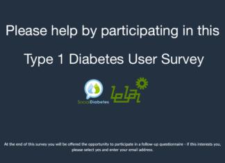 type 1 diabetes user survey