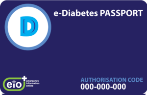 EIO e-diabetes passport