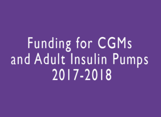 Funding for CGMs and Adult Insulin Pumps 2017