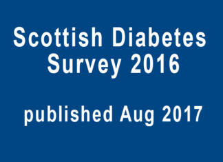 scottish diabetes survey 2016