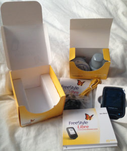 FreeStyle Libre box contents