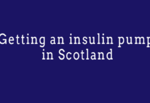 Getting an insulin pump in Scotland