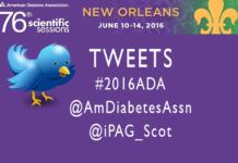 Tweeters at #2016ADA American Diabetes Association