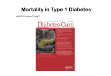 Mortality in Type 1 Diabetes in the DCCT/EDIC Versus the General Population