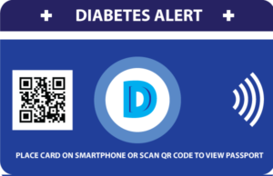 EIO diabetes alert e-diabetes passport