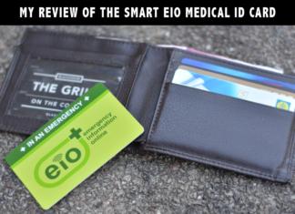 EIO Medical ID Card - Emergency Information Online