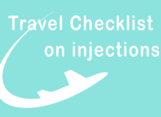 Holiday travel checklist for people with diabetes on injections