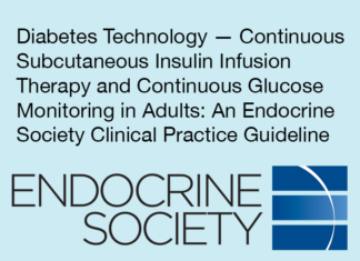Experts Recommend Continuous Glucose Monitors for Adults with Type-1 Diabetes Endocrine Society publishes guideline evaluating technologies for treating diabetes The Endocrine Society has issued a clinical practice guideline recommending continuous glucose monitors (CGMs) as the gold standard of care for adults with type 1 diabetes.