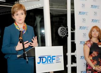 JDRF Nicola Sturgeon Funding Announcement December 2016