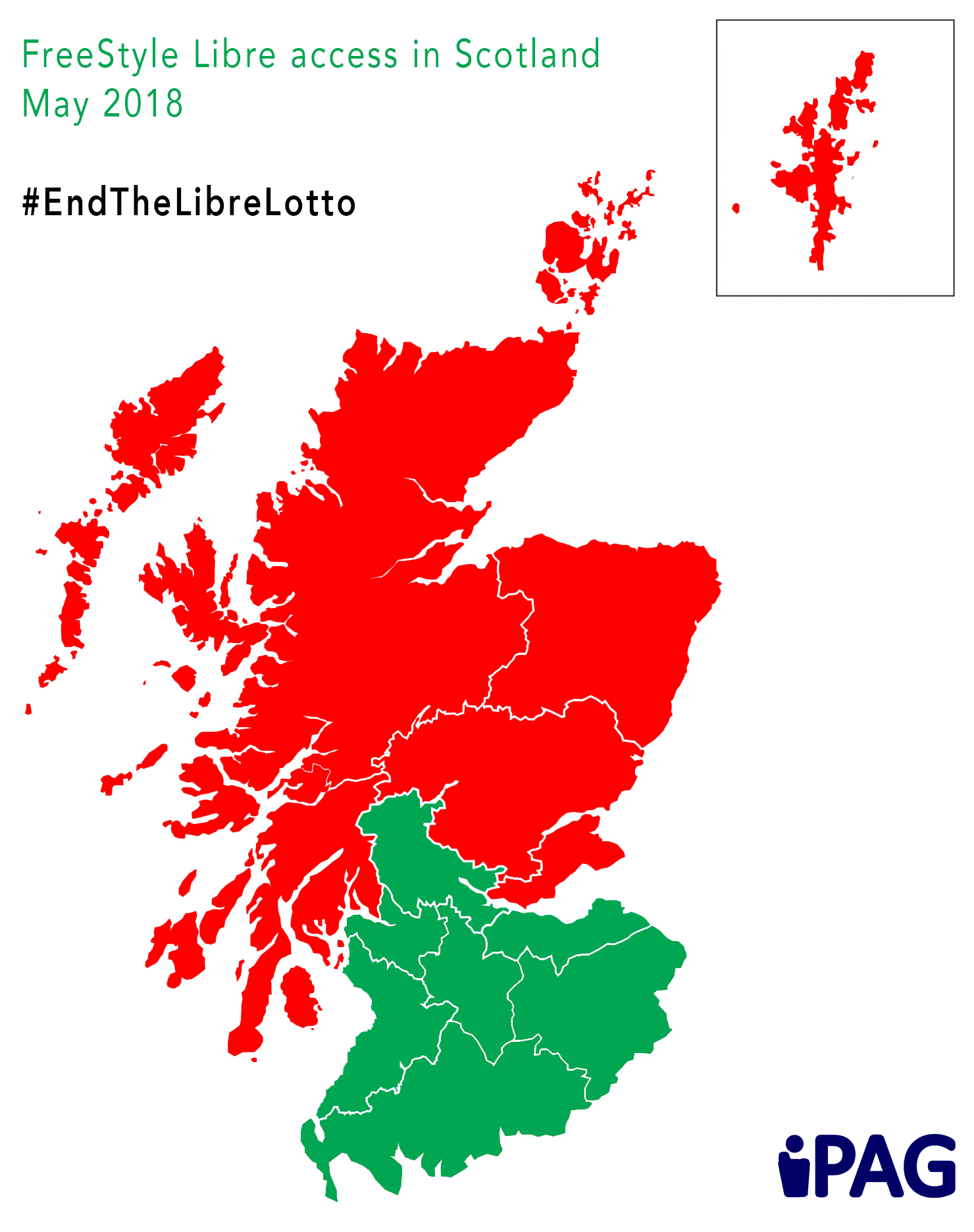 Libre Scotland Map With Lanarkshire Ipag Scotland
