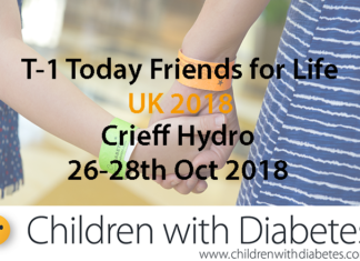 T-1 Today UK Children with Diabetes Friends for Life UK