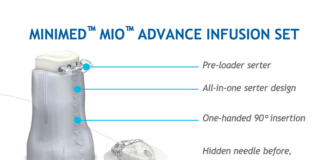 Minimed mio advance infusion set