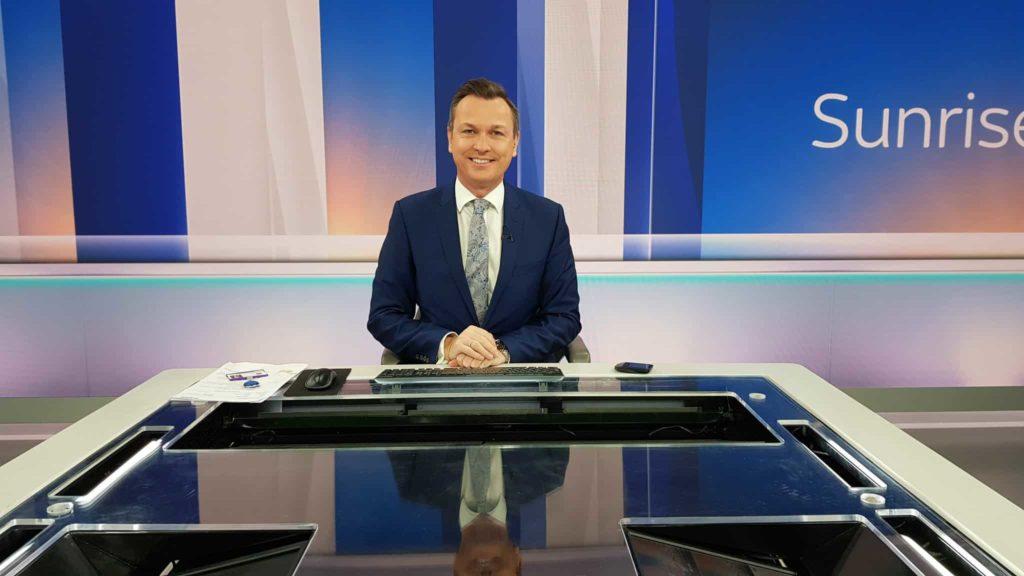 Sky News presenter and reporter Stephen Dixon